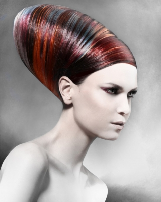 Anna Pacitto finalist Contessa Master Hairstylist 2012