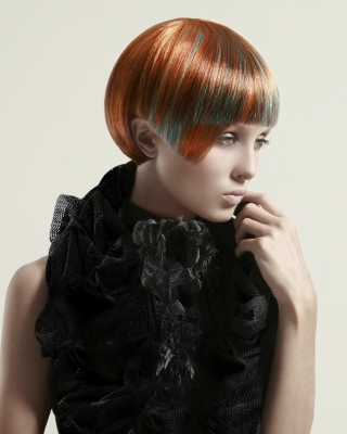 Anna Pacitto finalist NAHA Hairstylist of the year 2008
