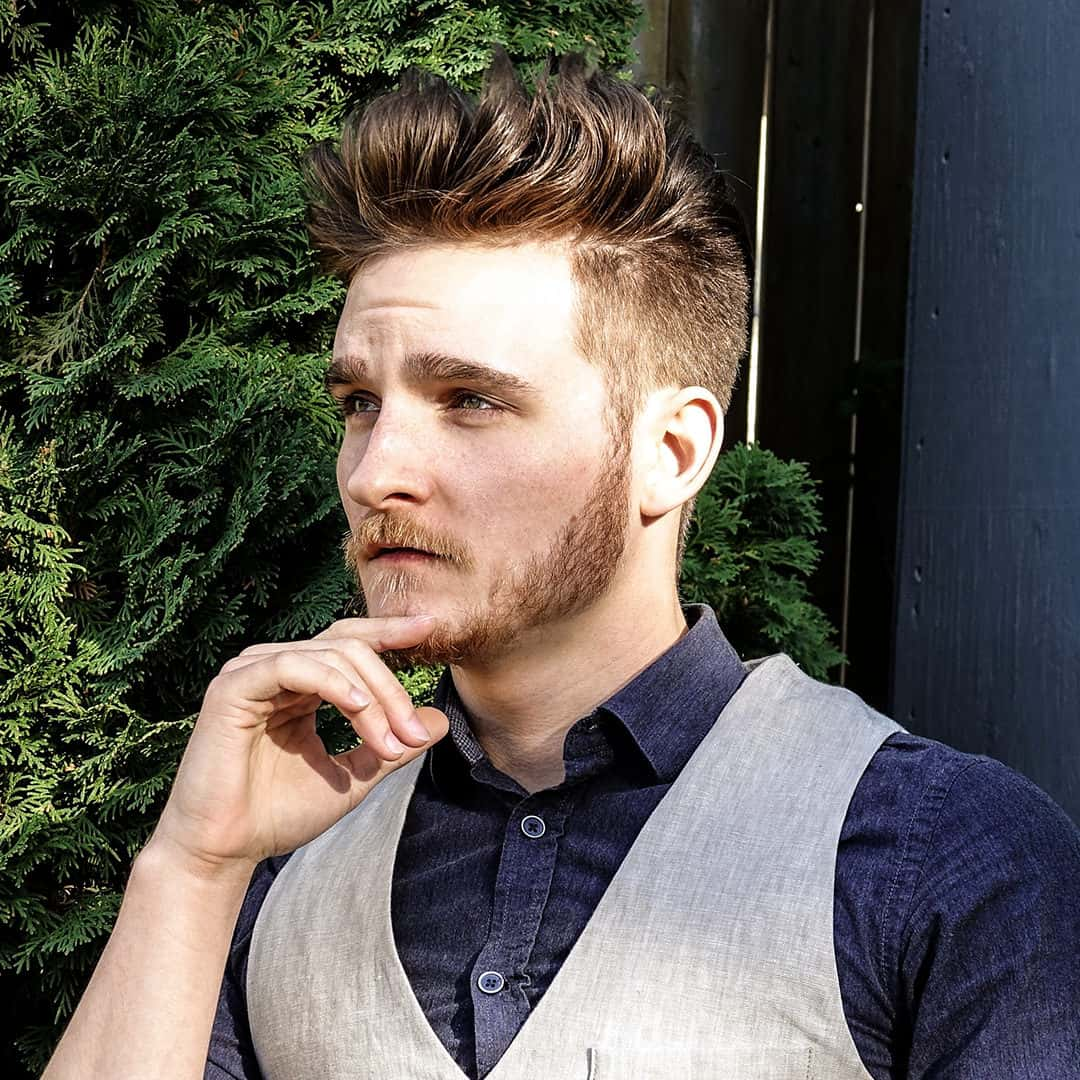 Men\u0027s hair styles \u2014 3 super stylish medium,length haircuts