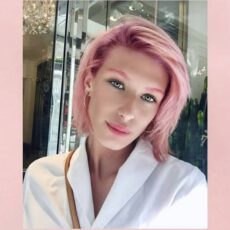 Pink Hair? Yes, please!