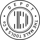 DEPOT - The Male Tools & Co LOgo